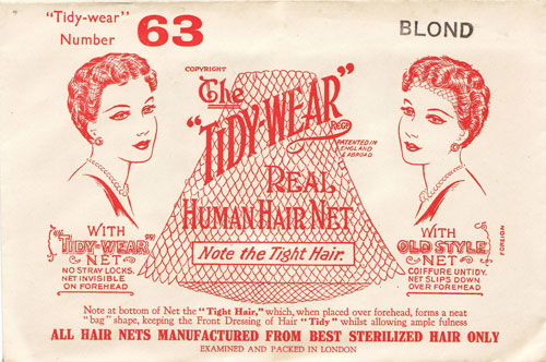 The Tidy Hair Real Human Hair Net