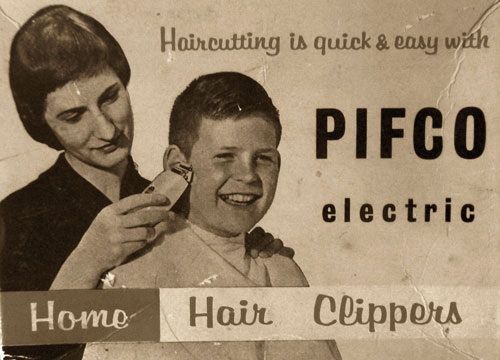 Electronic clippers took over post war