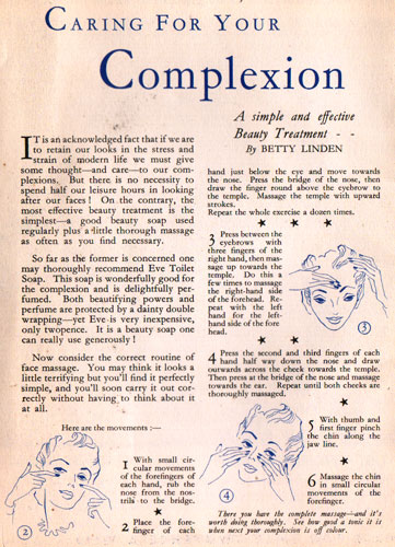 c20th - Caring for your complexion