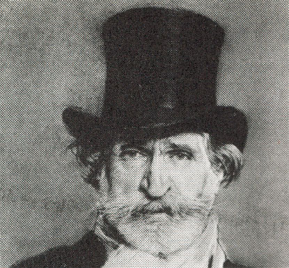 c19th - Composer Verdi; bearded but a more disciplined look