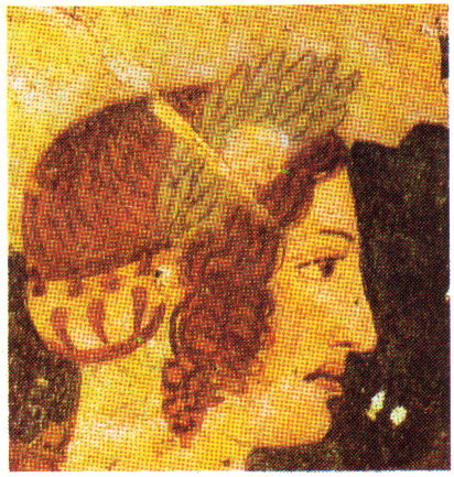 Etruscan woman of the court