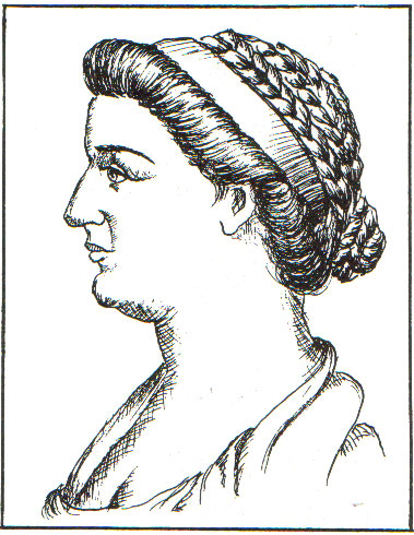 c1st AD - Image of Cleopatra