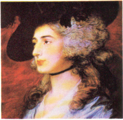 "c18th - ""An English Lady"" by Thomas Gainsborough"