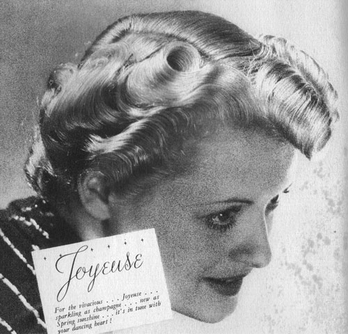 "c20th - ""Joyeuse"" For the vivacious, sparkling as champagne, new as Spring sunshine; it's in tune with your dancing heart!"